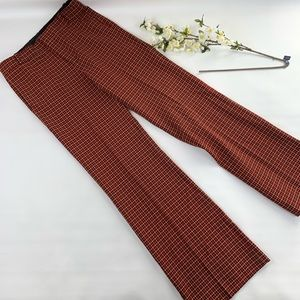 Zara plaid trousers new with tags sz S